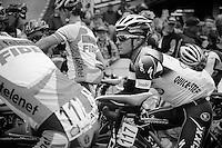 pr&eacute;-race favorite Gianni Meersman (BEL) at the start<br /> <br /> Belgian Championchips 2013