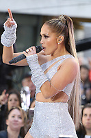 NEW YORK, NY - MAY 6: Jennifer Lopez Performs on NBC's Today Show on Rockefeller Plaza in New York City on May 6, 2019. Credit: John Barrett/PhotoLink/MediaPunch