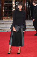Claudia Winkleman<br /> arrives for the The Prince's Trust Celebrate Success Awards 2017 at the Palladium Theatre, London.<br /> <br /> <br /> ©Ash Knotek  D3241  15/03/2017