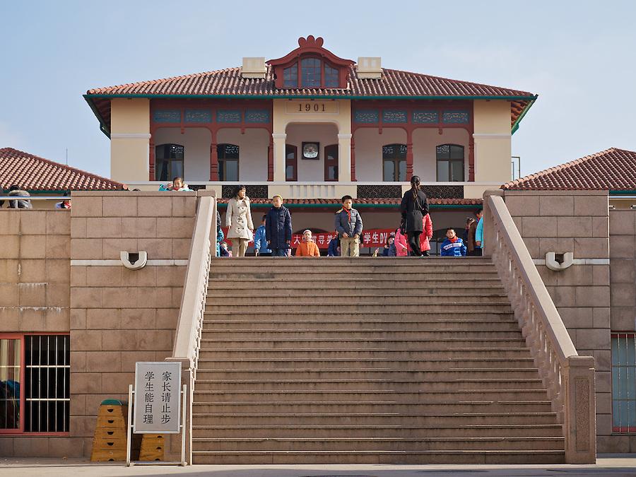 German Boys' School (1901), Qingdao (Tsingtao).