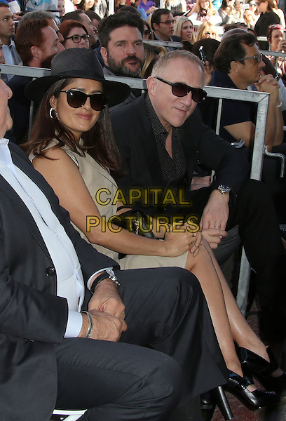 Hollywood, CA - November 05 Salma Hayek, Francois-Henri Pinault Attending Ridley Scott Honored With Star On The Hollywood Walk Of Fame At On The Hollywood Walk Of Fame On November 05, 2015. <br /> CAP/MPI/FS<br /> &copy;FS/MPI/Capital Pictures