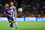 UEFA Champions League 2017/2018 - Matchday 1.<br /> FC Barcelona vs Juventus Football Club: 3-0.<br /> Lionel Messi vs Miralem Pjanic.