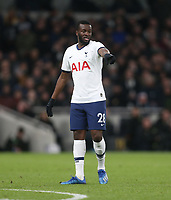Tottenham Hotspur's Tanguy NDombele<br /> <br /> Photographer Rob Newell/CameraSport<br /> <br /> The Emirates FA Cup Fifth Round - Tottenham Hotspur v Norwich City - Wednesday 4th March 2020 - Tottenham Hotspur Stadium - London<br />  <br /> World Copyright © 2020 CameraSport. All rights reserved. 43 Linden Ave. Countesthorpe. Leicester. England. LE8 5PG - Tel: +44 (0) 116 277 4147 - admin@camerasport.com - www.camerasport.com