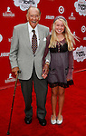 "LOS ANGELES, CA. - October 04: Art Linkletter and great-grandddaughter Sophia arrives at Variety's ""Power Of Youth"" to Benefit St. Jude presented by Target at L.A. Live on October 4, 2008 in Los Angeles, California."
