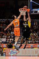 Lucic vs Tsairelis<br /> Liga Endesa ACB - 2014/15<br /> J15<br /> Valencia Basket vs Iberostar Tenerife