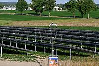 GERMANY, Luebz, solar farm , Security Camera/ DEUTSCHLAND, Lübz, Solarfeld, Videoüberwachung zum Schutz vor Diebstahl und Vandalismus