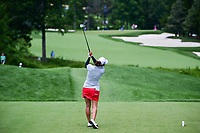 Marina Alex (USA) watches her tee shot on 2 during Sunday's final round of the 72nd U.S. Women's Open Championship, at Trump National Golf Club, Bedminster, New Jersey. 7/16/2017.<br /> Picture: Golffile | Ken Murray<br /> <br /> <br /> All photo usage must carry mandatory copyright credit (&copy; Golffile | Ken Murray)