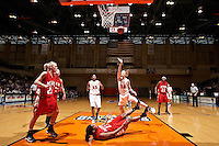 SAN ANTONIO, TX - DECEMBER 29, 2007: The Miami University Redhawks vs. The University of Texas at San Antonio Roadrunners Women's Basketball at the UTSA Convocation Center. (Photo by Jeff Huehn)