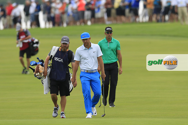 Kevin Chappell (USA) walks to the 4th green during Thursday's Round 1 of the 2016 U.S. Open Championship held at Oakmont Country Club, Oakmont, Pittsburgh, Pennsylvania, United States of America. 16th June 2016.<br /> Picture: Eoin Clarke | Golffile<br /> <br /> <br /> All photos usage must carry mandatory copyright credit (&copy; Golffile | Eoin Clarke)