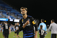 San Jose, CA - Wednesday September 27, 2017: Chris Wondolowski during a Major League Soccer (MLS) match between the San Jose Earthquakes and the Chicago Fire at Avaya Stadium.