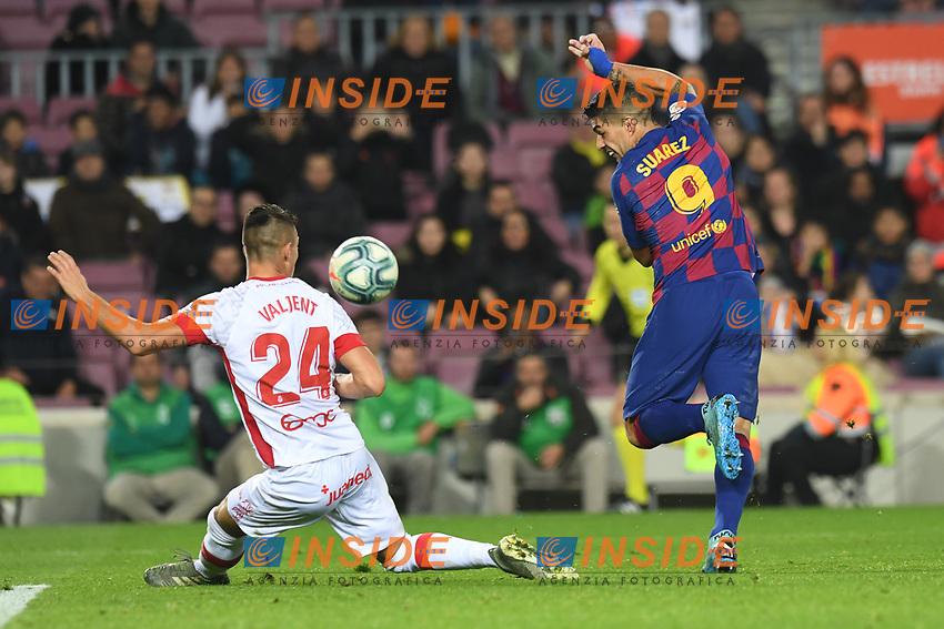 Luis Suarez, Valjent<br /> 07/12/2019 <br /> Barcelona - Maiorca<br /> Calcio La Liga 2019/2020 <br /> Photo Paco Largo Panoramic/insidefoto <br /> ITALY ONLY