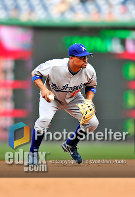 25 April 2010: Los Angeles Dodgers' infielder Rafael Furcal in action against the Washington Nationals at Nationals Park in Washington, DC. The Nationals shut out the Dodgers 1-0 to take the rubber match of their 3-game series. Mandatory Credit: Ed Wolfstein Photo