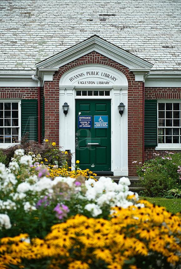 Hyannis public library, Hyannis, Cape Cod, Massachusettes, Usa