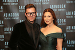 Chad Austin and Donna Murphy attends the Abingdon Theatre Company Gala honoring Donna Murphy on October 22, 2018 at the Edison Ballroom in New York City.
