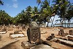 Iles du Salut au large de Kourou.cimetière de l''ïle saint Joseph