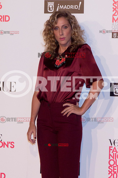06.09.2012. Vogue Fashion´S Night Out Madrid. In the image Cecilia Freire  (Alterphotos/Marta Gonzalez) /NortePhoto<br />  **CREDITO*OBLIGATORIO** *No*Venta*A*Terceros* *No*Sale*So*third* ***