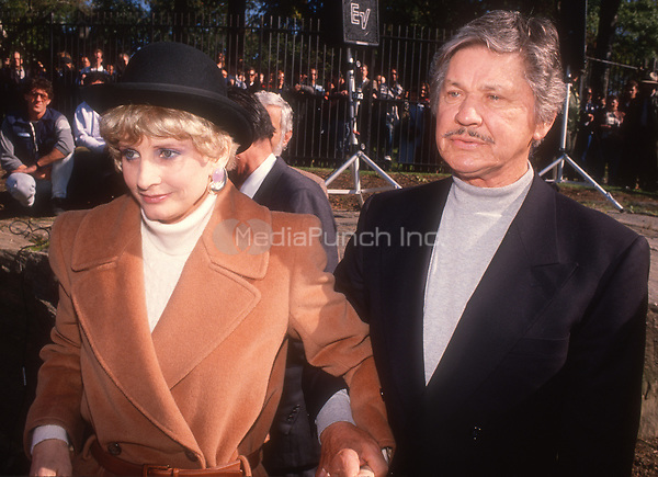 Jill Ireland Charles Bronson Circa 1980's<br /> Photo By John Barrett/PHOTOlink.net /MediaPunch