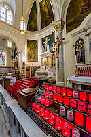 National Shrine Church of San Gennaro,  Church of the Most Precious Blood, Little Italy, New York, New York USA.
