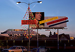Peter Frampton billboard on La Brea Ave. near A&M Records in Hollywood, CA circa 1980's