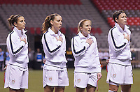 Vancouver, Canada - Tuesday January 24, 2012: The USA defeated Mexico 4-0 to play in the semifinal of 2012 CONCACAF Olympic Tournament.
