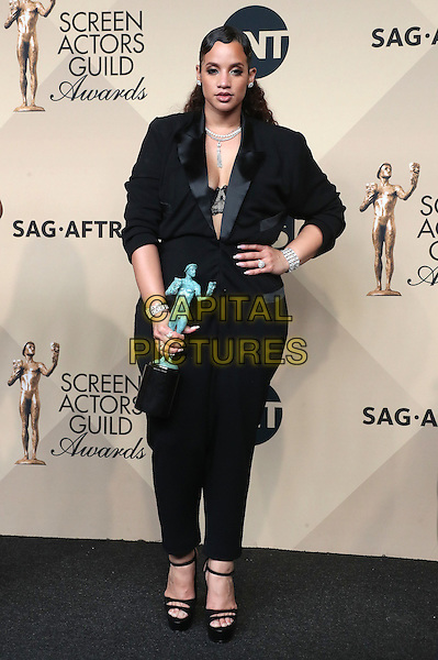 29 January 2017 - Los Angeles, California - Dascha Polanco. 23rd Annual Screen Actors Guild Awards held at The Shrine Expo Hall. <br /> CAP/ADM/FS<br /> &copy;FS/ADM/Capital Pictures