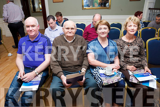 Don Shine, Jack Shine, Eileen Kennelly and Noreen McEvoy from Moyvane who attended the Gas Networks Ireland information evening in the Listowel Arms Hotel on Tuesday evening.