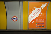 In the race to rent? Rightmove advert at Bond Street tube station London