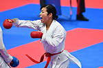 Kayo Someya (JPN), <br /> AUGUST 25, 2018 - Karate : Women's Kumite -68kg Bronze medal match at Jakarta Convention Center Plenary Hall during the 2018 Jakarta Palembang Asian Games in Jakarta, Indonesia. <br /> (Photo by MATSUO.K/AFLO SPORT)
