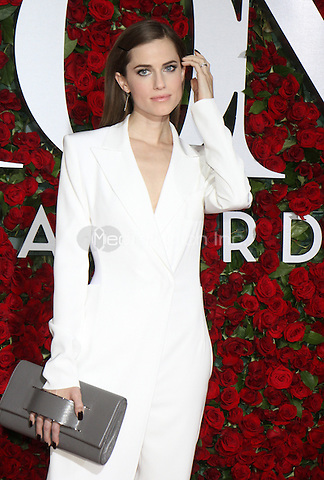 NEW YORK, NY-June 12: Allison Williams at the 70th Annual Tony Awards at the Beacon Theatre in New York. NY June 12, 2016. Credit:RW/MediaPunch