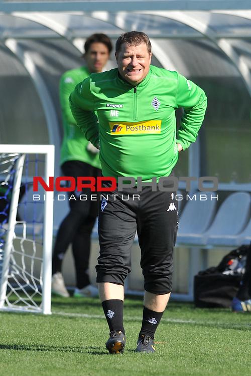 11.01.2015, Maxx Royal Sports Centre, Belek, GER, 1. FBL Trainingslager Borussia Moenchengladbach Tag 4,  im Bild Max Eberl<br /> <br /> <br /> Foto &copy; nordphoto / Fabisch