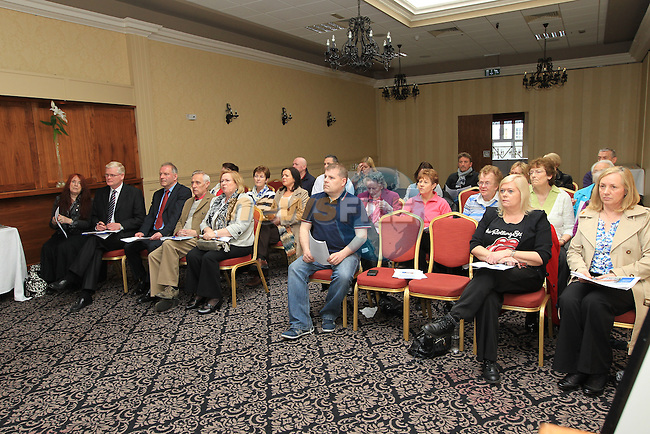 The launch of the cottage hospital report in the West Court Hotel..Picture Fran Caffrey www.newsfile.ie..