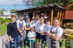 The Team at the Forge Pizza at Gregorys Garden Marius Alin Maf, Oran Foley, Jesse O'Mahoney <br /> Greg O'Mahoney (Chef/Patron) Emily O'Mahoney, Phoebe O'Mahoney, Fleitor Baraldi and Brandon O'Mahoney (front)