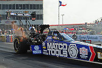 27-29 April, 2012, Houston, Texas USA, Antron Brown, Matco Tools, top fuel dragster @2012, Mark J. Rebilas