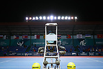 General view,<br /> AUGUST 20, 2018 - Tennis : <br /> Men's Doubles Round of 32<br /> at Jakabaring Sport Center Tennis Court <br /> during the 2018 Jakarta Palembang Asian Games <br /> in Palembang, Indonesia. <br /> (Photo by Yohei Osada/AFLO SPORT)