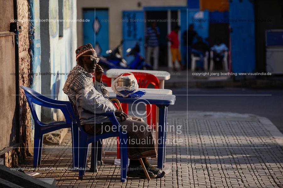 DJIBOUTI , old town, street life / DSCHIBUTI, Altstadt