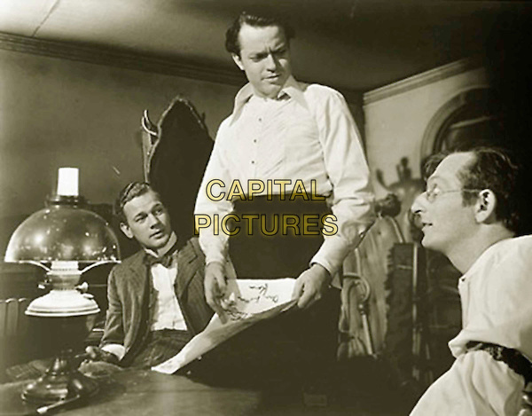 JOSEPH COTTEN.ORSON WELLES.EVERETT SLOANE.in Citizen Kane.Filmstill - Editorial Use Only.Ref: FB.sales@capitalpictures.com.www.capitalpictures.com.Supplied by Capital Pictures.