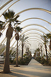 Umbracle, The Arts and Science City by Calatrava, Valencia, Spain