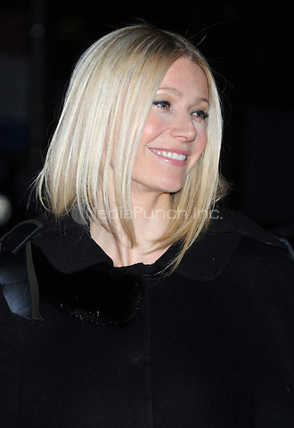 Gwyneth Paltrow at the New York Premiere of 'Valentino: The Last Emperor' at The Museum of Modern Art in The Roy and Niuta Titus I Theater. March 17, 2009 Credit: Dennis Van Tine/MediaPunch