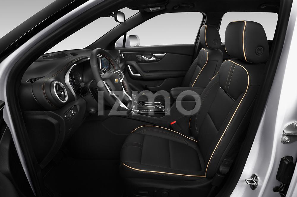 Front seat view of 2020 Chevrolet Blazer Premier 5 Door SUV Front Seat  car photos