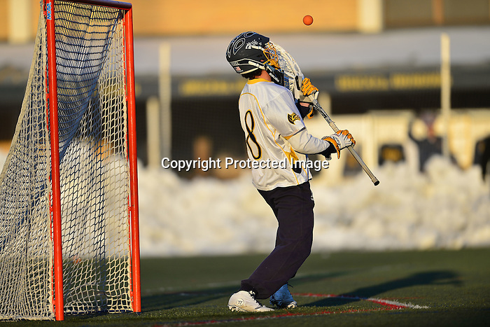 Philadelphia, Pa.  &ndash; Freshman Cole Shafer scored five times and Ben McIntosh added six points as No. 17 Drexel defeated No. 19 St. John's on a frigid afternoon at Vidas Field in West Philadelphia, 16-11. The Dragons controlled play for most of the game as Nick Saputo dominated on face-offs for the Dragons. He won 22 in the game, including eight in the second quarter, as Drexel (3-2) went on a 7-0 run to take control of the game. The Red Storm fell to 2-2 on the season.<br /> <br /> St. John's trailed by as many as six goals in the game, but was able to cut the lead down to two goals midway through the fourth quarter. Colin Keegan's tally made it 13-9, and Ryan Fitzgerald scored twice within a span of 1:08 to make it 13-11. However, Shafer gave the Dragons some breathing room with a goal at the 6:08 mark and then another with just 1:40 left in the game. He took a long pass from Will Gabrielsen to seal the contest. Nick Trizano finished the scoring with 21 seconds left as the Dragons won their second game against a ranked opponent this year.<br /> <br /> The Dragons and Red Storm alternated scoring the first six goals of the game. Six different players scored before Stefan Diachenko gave St. John's its first lead of the game at 4-2 with 2:39 left in the first period. That would be the Red Storm's last goal for a span of 16:39 as the Dragons rattled off seven straight goals. Shafer had the first two, including one on the man-up, and the final of the seven goals. In between, Trizano, McIntosh, Nick Valentino and Jared Boudreau each had a goal as the Dragons took a 10-4 lead. The Red Storm stopped the momentum briefly as Keegan and Kevin Cernuto scored. Cernuto's came with just 20 seconds remaining in the half. On the ensuing draw, Saputo won it cleanly, picked up the ground ball and fired a shot past goalkeeper Harry Burke with eight seconds left as the Dragons took an 11-6 lead to the break.