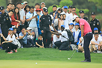 Siwan Kim (USA) during the final round of the Volvo China Open played at Topwin Golf and Country Club, Huairou, Beijing, China 26-29 April 2018.<br /> 29/04/2018.<br /> Picture: Golffile | Phil Inglis<br /> <br /> <br /> All photo usage must carry mandatory copyright credit (&copy; Golffile | Phil Inglis)