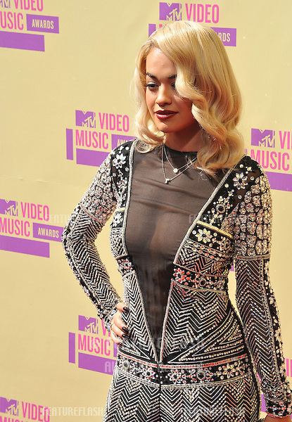 Rita Ora at the 2012 MTV Video Music Awards at Staples Center, Los Angeles..September 6, 2012  Los Angeles, CA.Picture: Paul Smith / Featureflash