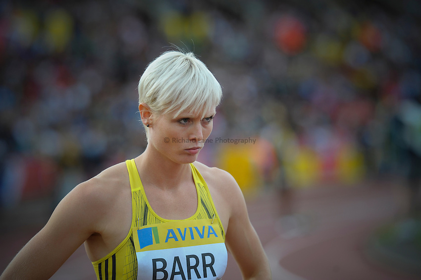 Photo: Ady Kerry/Richard Lane Photography..Aviva British Grand Prix. 31/08/2009. .Vicky Barr 400m