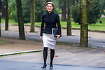 Spanish Minister of Agriculture, Fishery, Alimentation and Environmental Affairs Isabel Garcia Tejerina during the prensentation of Rajoy's New Government at Moncloa Palace in  Madrid, Spain. November 04, 2016. (ALTERPHOTOS/Rodrigo Jimenez)
