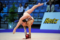 Anna Gurbanova of Azerbaijan performs at 2010 World Cup at Portimao, Portugal on March 13, 2010.  (Photo by Tom Theobald).