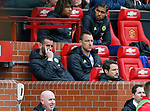 John Terry of Chelsea watches the match from the bench during the English Premier League match at Old Trafford Stadium, Manchester. Picture date: April 16th 2017. Pic credit should read: Simon Bellis/Sportimage