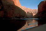 Grand Canyon National Park, kayaker, Colorado River, Arizona, western United States, quiet water,