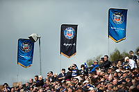 A general view of the Bath Rugby crowd. Aviva Premiership match, between Bath Rugby and Saracens on September 9, 2017 at the Recreation Ground in Bath, England. Photo by: Patrick Khachfe / Onside Images