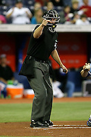 May 23rd 2008:  Major League Umpire Scott Barry during a game at the Rogers Centre in Toronto, Ontario, Canada .  Photo by:  Mike Janes/Four Seam Images