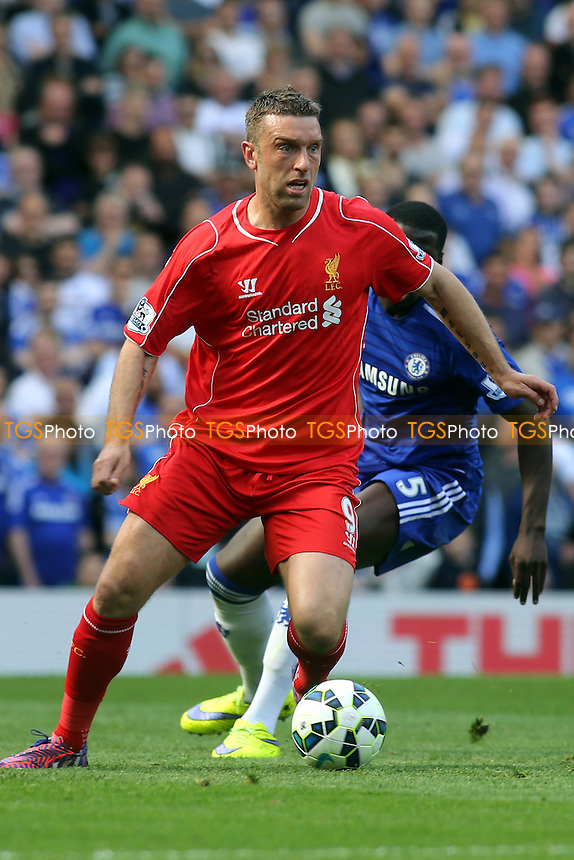 Rickie Lambert of Liverpool in action - Chelsea vs Liverpool - Barclays Premier League Football at Stamford Bridge, London - 10/05/15 - MANDATORY CREDIT: Paul Dennis/TGSPHOTO - Self billing applies where appropriate - contact@tgsphoto.co.uk - NO UNPAID USE